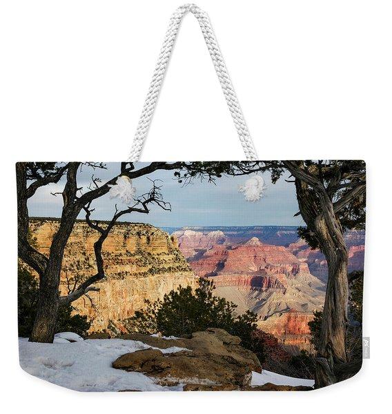 Grand Canyon At Sunrise Weekender Tote Bag