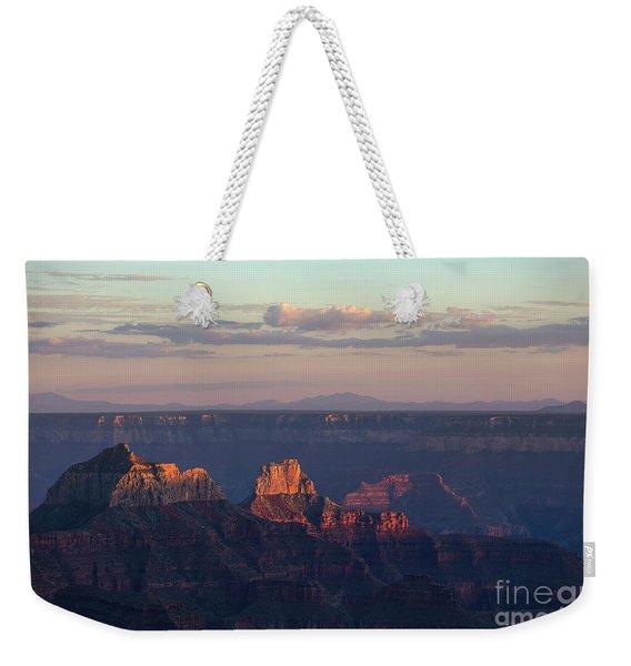 Grand Canyon At Sunset Weekender Tote Bag