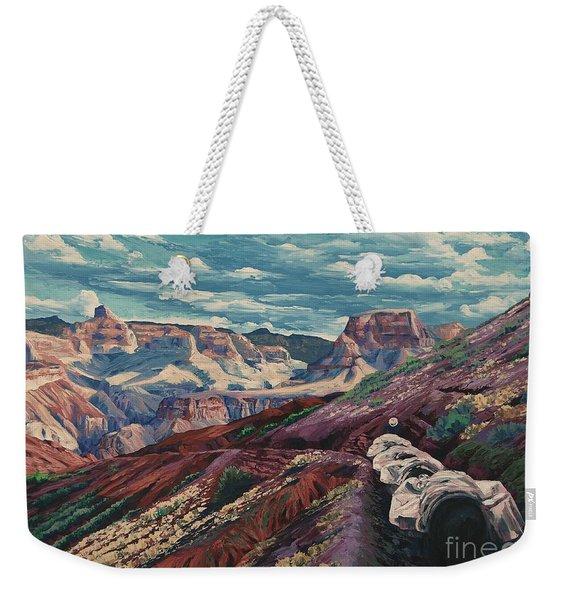 Grand Canyon Mule Skinners Weekender Tote Bag