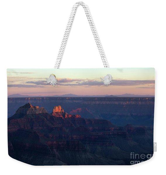 Grand Canyon North Rim At Sunset Weekender Tote Bag