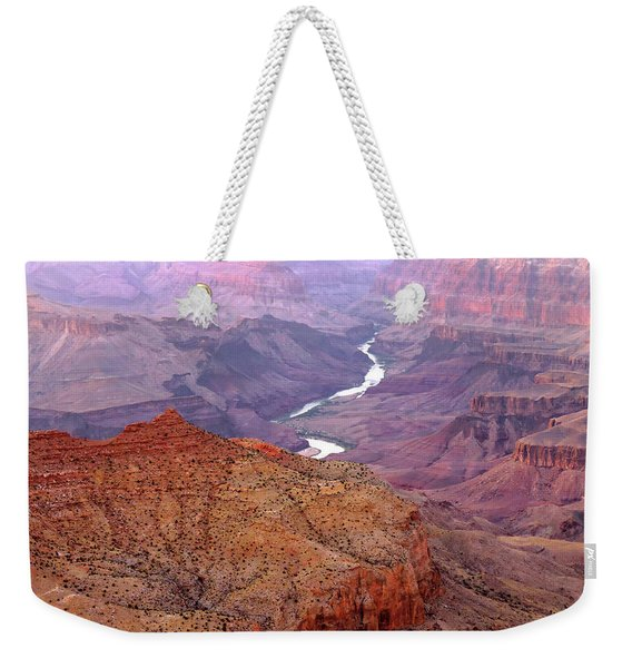 Grand Canyon River View Weekender Tote Bag