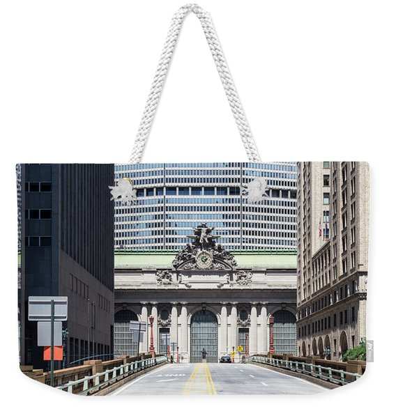 Grand Central Station In New York City Weekender Tote Bag
