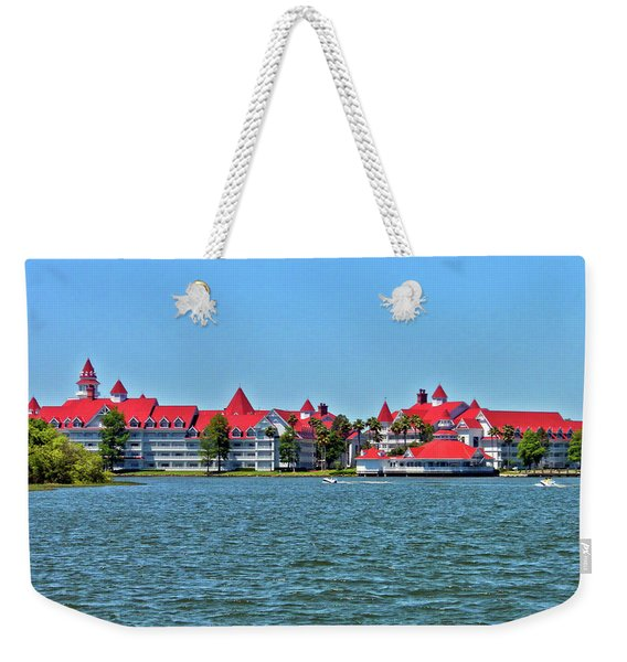 Grand Floridian Resort And Spa Mp Weekender Tote Bag