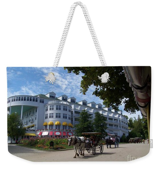 Grand Hotel Weekender Tote Bag