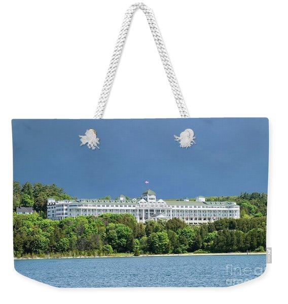 Grand Hotel Weekender Tote Bag
