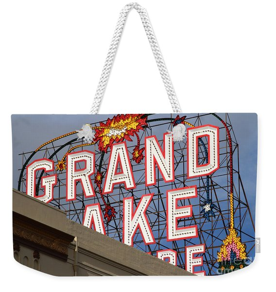 Grand Lake Theatre . Oakland California . 7d13495 Weekender Tote Bag