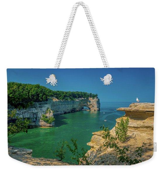 Grand Portal Point Weekender Tote Bag