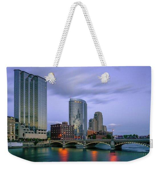 Grand Rapids Dusk Weekender Tote Bag
