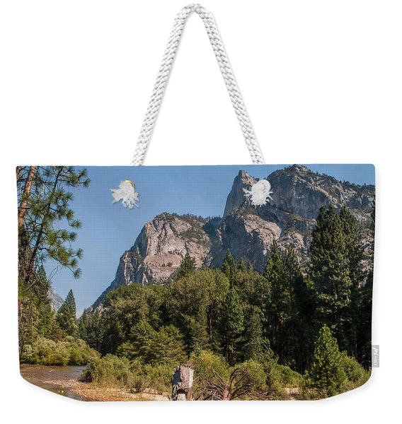 Grand Sentinel Zumalt Meadow Kings Canyon National Park Weekender Tote Bag