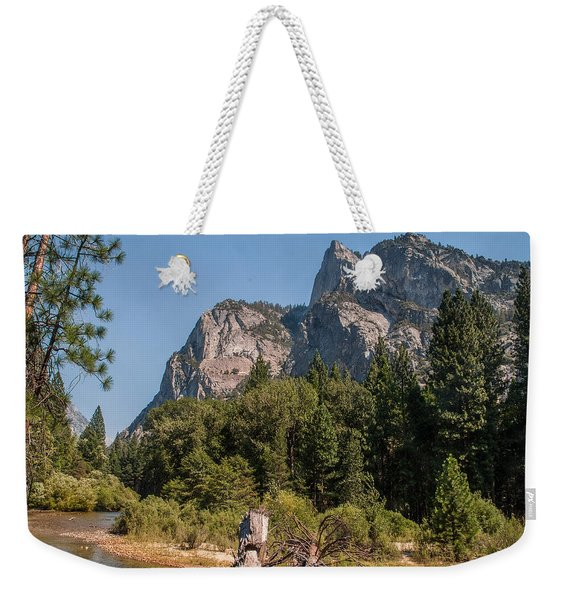 Grand Sentinel Zumalt Meadow Kings Canyon National Park Weekender Tote Bag