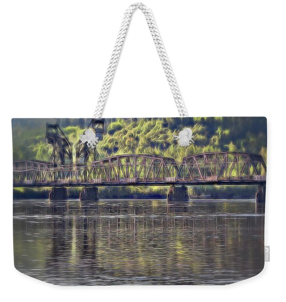 Grand Trunk Pacific Railway Weekender Tote Bag