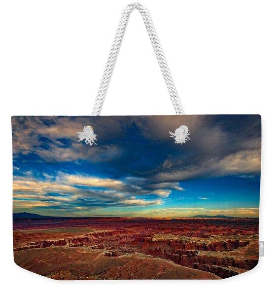 Grand View Point Weekender Tote Bag