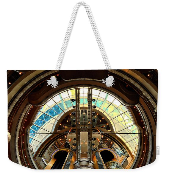 Grandeur Of The Seas Gold Centrum Weekender Tote Bag