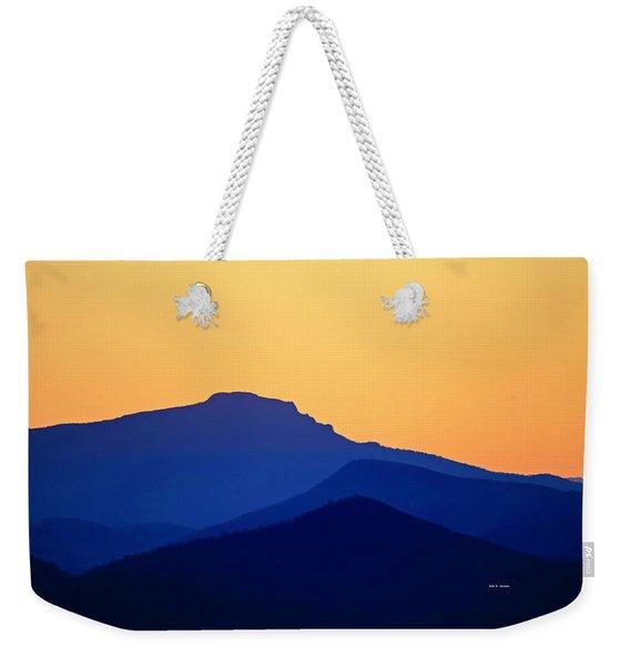 Grandfather Sunset Weekender Tote Bag