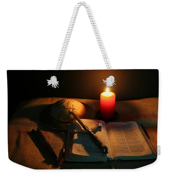 Grandfathers Bible Weekender Tote Bag