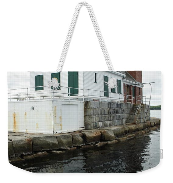 Grandfathers Lighthouse Weekender Tote Bag