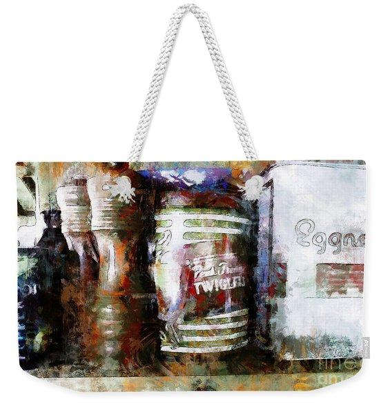 Grandma's Kitchen Tins Weekender Tote Bag