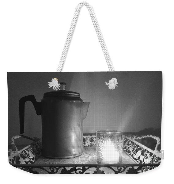 Grandmothers Vintage Coffee Pot Weekender Tote Bag