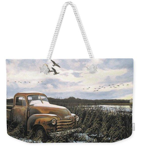 Grandpa's Old Truck Weekender Tote Bag
