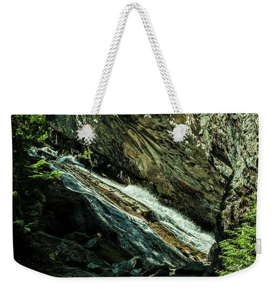 Granite Falls Of Ancient Cedars Weekender Tote Bag