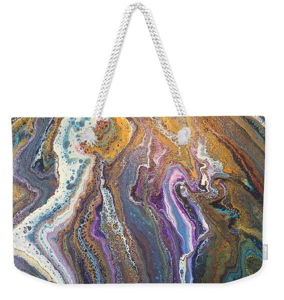 Granite Flow Weekender Tote Bag