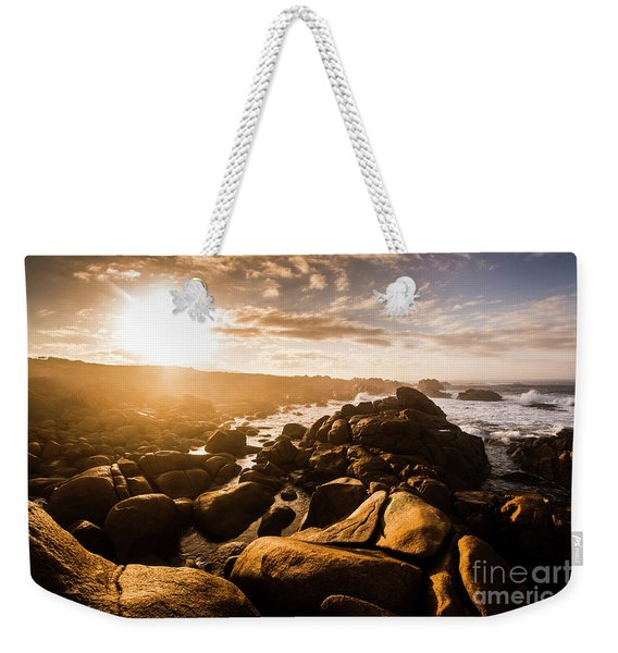 Granville Harbour Tasmania Sunrise Weekender Tote Bag