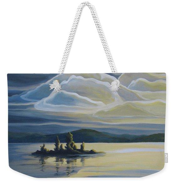 Grape Island Weekender Tote Bag