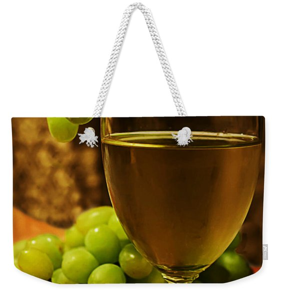 Grape Juice Weekender Tote Bag