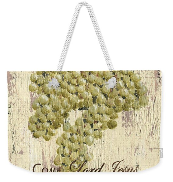 Grapes And Grace 1 Weekender Tote Bag