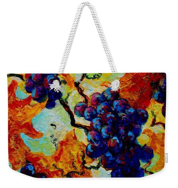 Grapes Mini Weekender Tote Bag