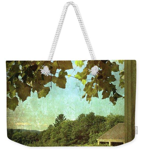 Grapes On Arbor  Weekender Tote Bag