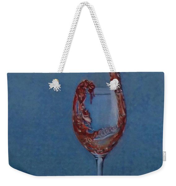 Grapes To Wine Weekender Tote Bag