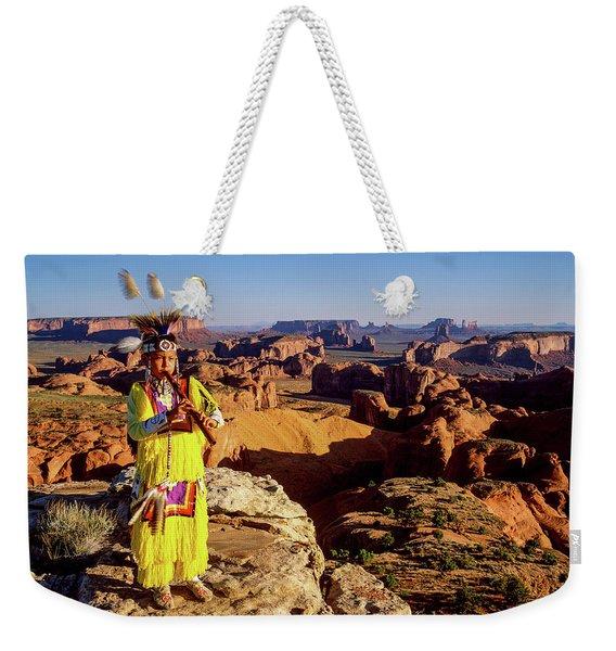 Grass Dancer Weekender Tote Bag