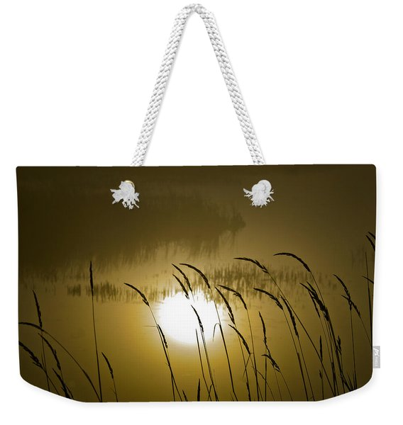 Grass Silhouettes Weekender Tote Bag