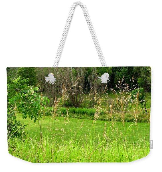 Swaying Grass Weekender Tote Bag