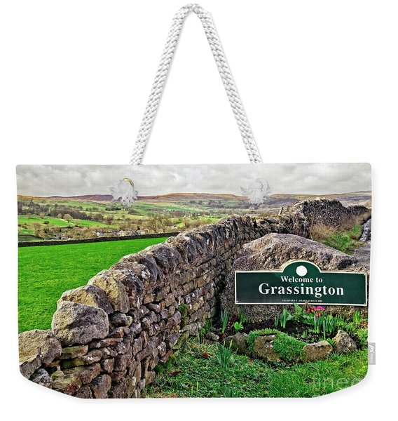 Grassington, Yorkshire Dales Weekender Tote Bag