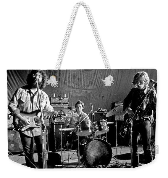 Grateful Dead In Concert - San Francisco 1969 Weekender Tote Bag
