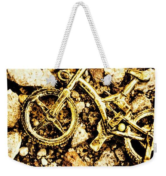 Gravel Bikes Weekender Tote Bag