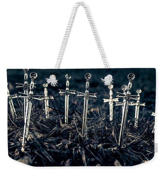 Gravely Battlefield Weekender Tote Bag