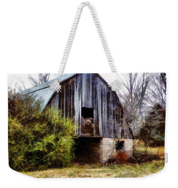 Gray Barn Weekender Tote Bag