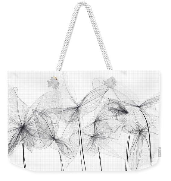 Grayish Spring - Modern Art Weekender Tote Bag