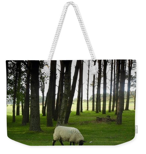 Grazing In The Woods Weekender Tote Bag