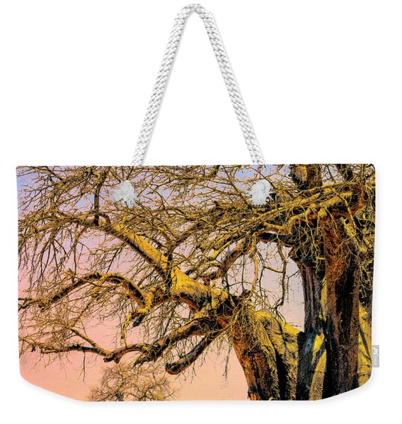 Grazing The Savanna Weekender Tote Bag