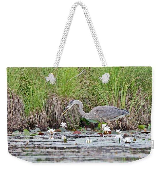 Great Blue Heron 6140 Weekender Tote Bag