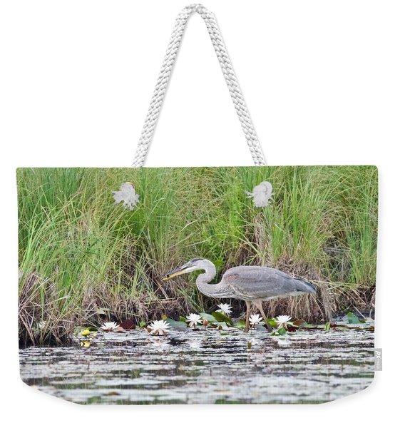 Great Blue Heron 6180 Weekender Tote Bag