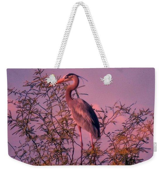 Great Blue Heron - Artistic 6 Weekender Tote Bag