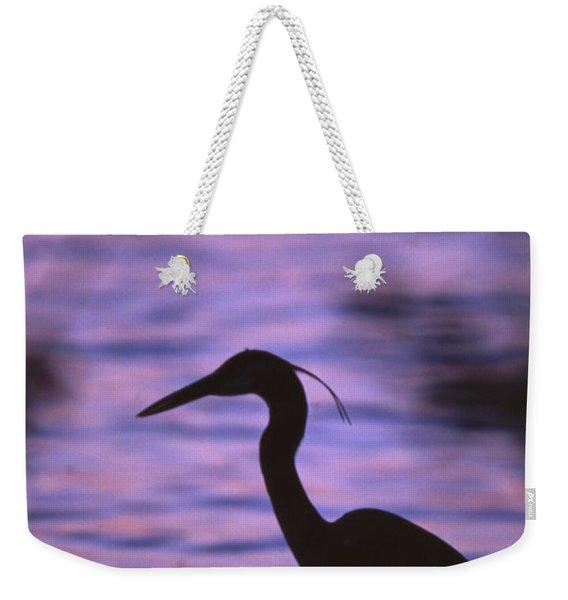 Great Blue Heron Photo Weekender Tote Bag