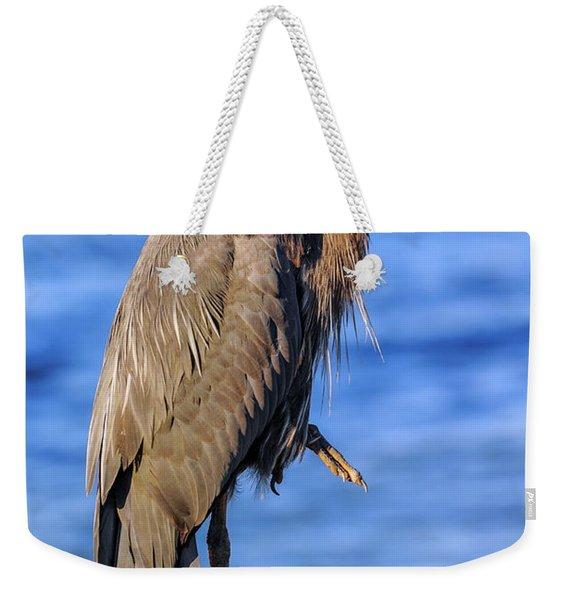 Great Blue Heron On The Chesapeake Bay Weekender Tote Bag