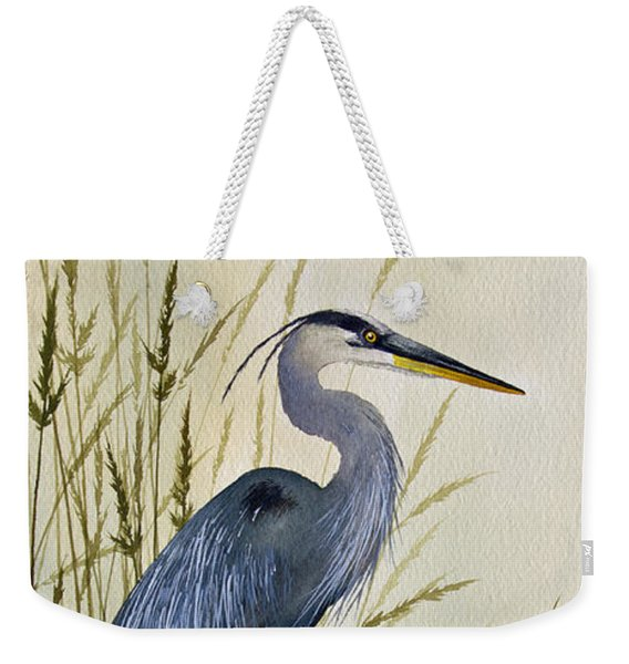 Great Blue Heron Splendor Weekender Tote Bag