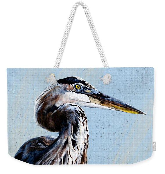Great Blue Theodore Weekender Tote Bag
